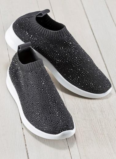 Elle Kumaş Ayakkabı Siyah